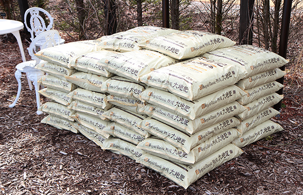 ◆4月上旬:大地肥施肥