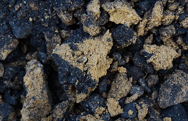 造成前周辺土壌