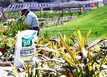 土壌改良で植栽デザインを再現(はままつフラワーパーク)|Biogold PROFESSIONAL