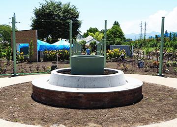 新設ローズガーデンの土壌改良(中之条ガーデンズ)|Biogold PROFESSIONAL